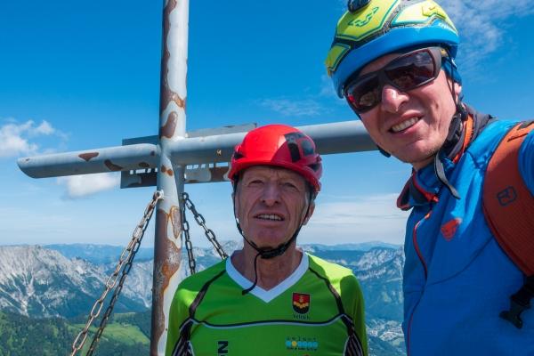 Gipfelfoto Schwarzenstein