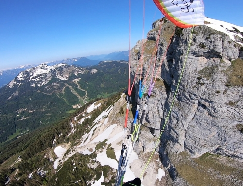 Loser – Klettersteig and Fly